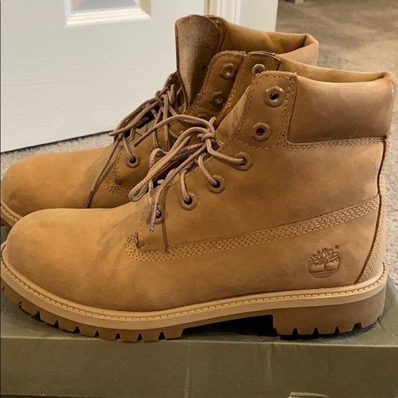 Timberland Junior Boots Size 65 Sand